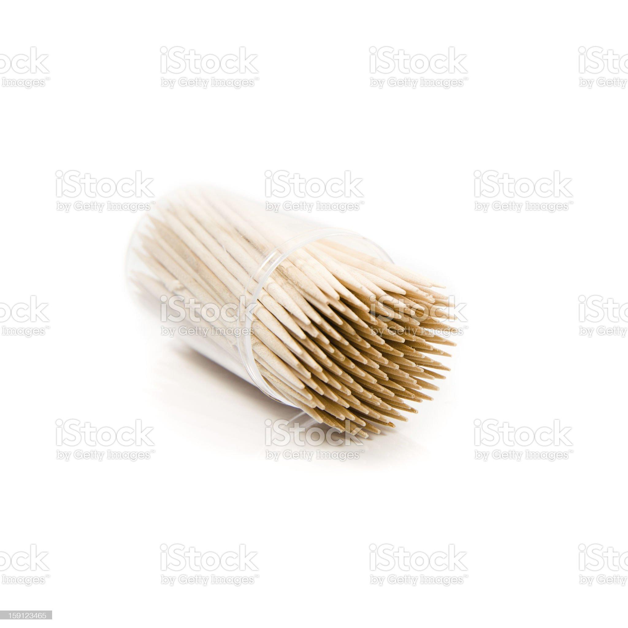 toothpicks royalty-free stock photo