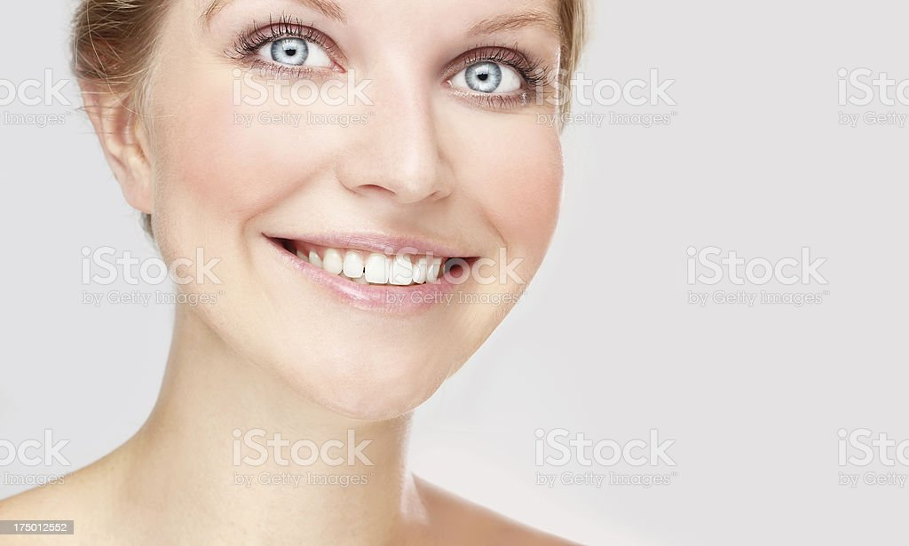 Toothy Smile, royalty-free stock photo