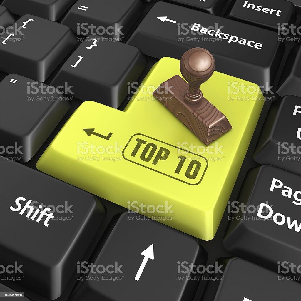 top 10 enter key stock photo