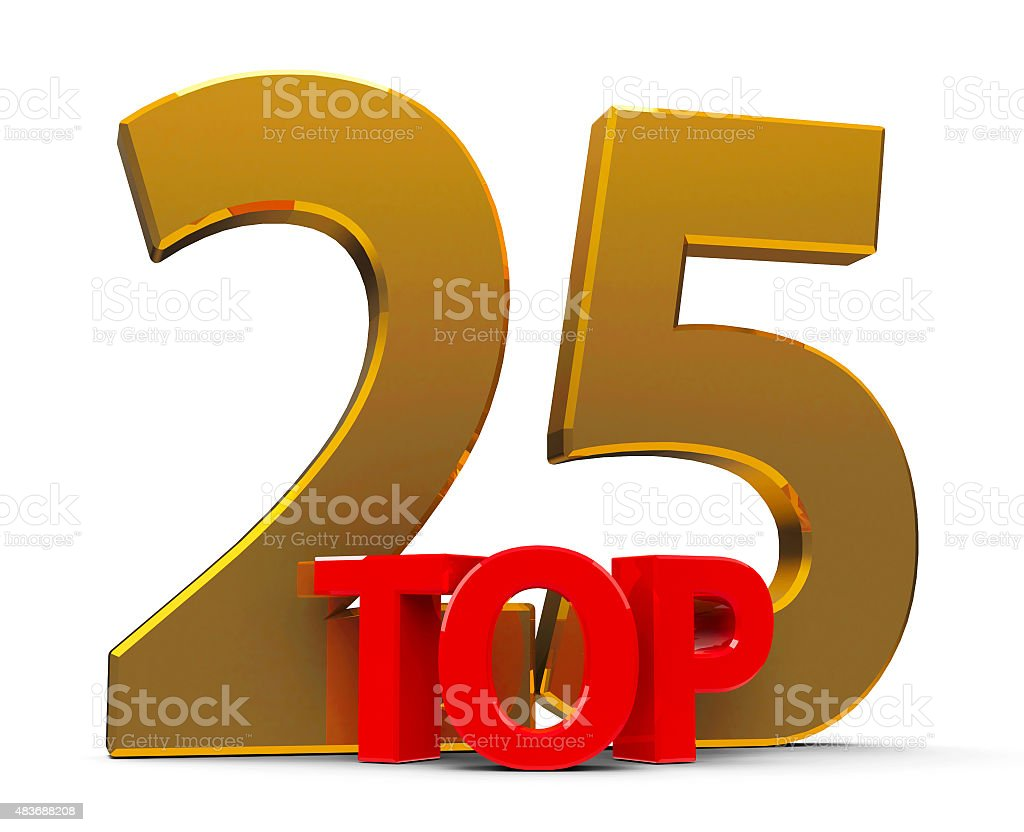 Top 25 stock photo