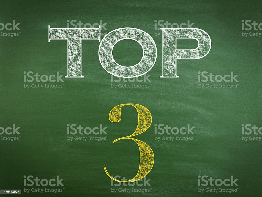 Top 3 (Click for more) royalty-free stock photo