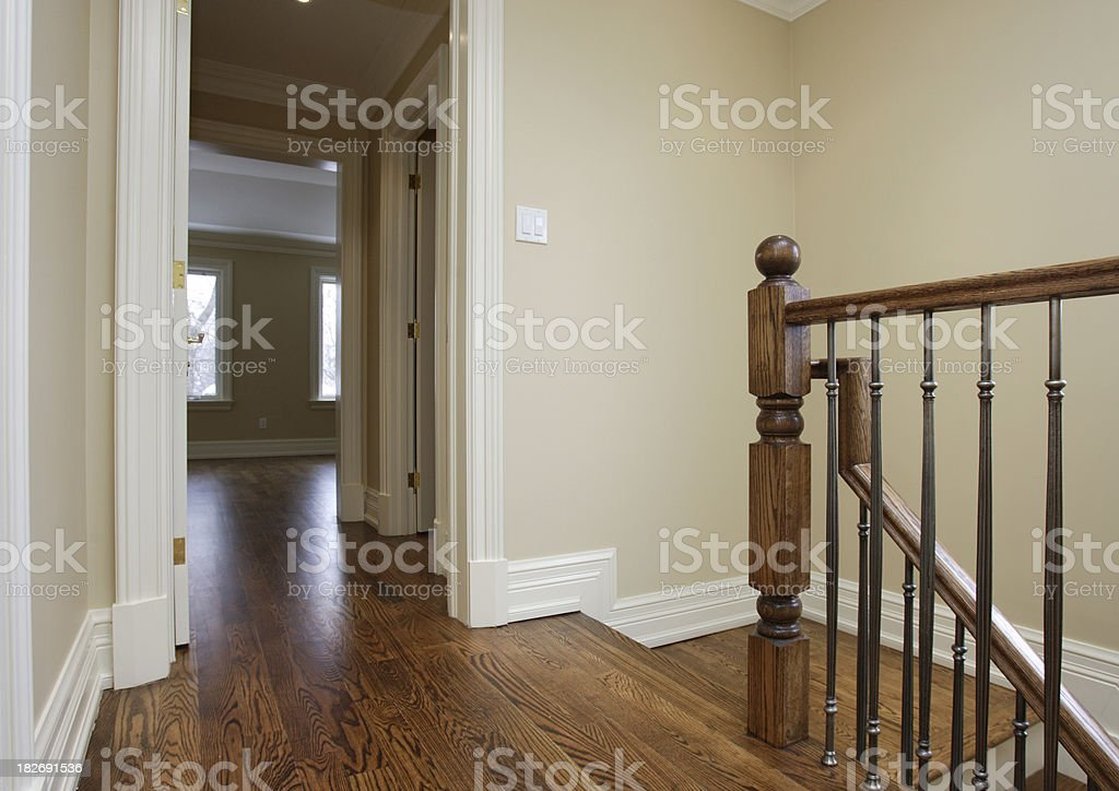 Top floor, new house royalty-free stock photo