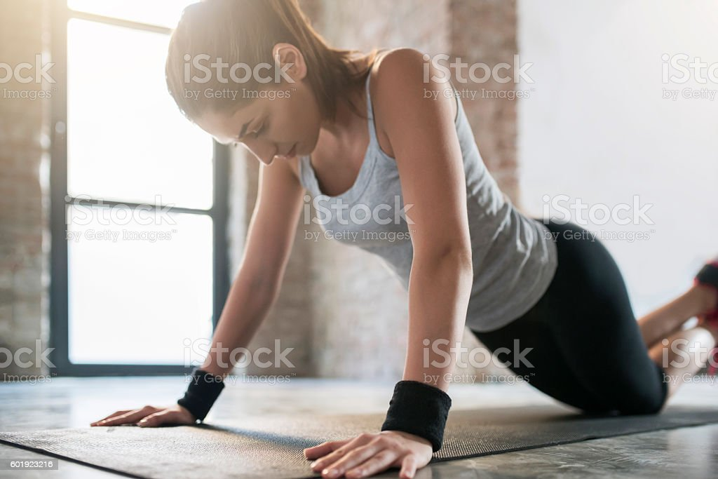 Top Form stock photo