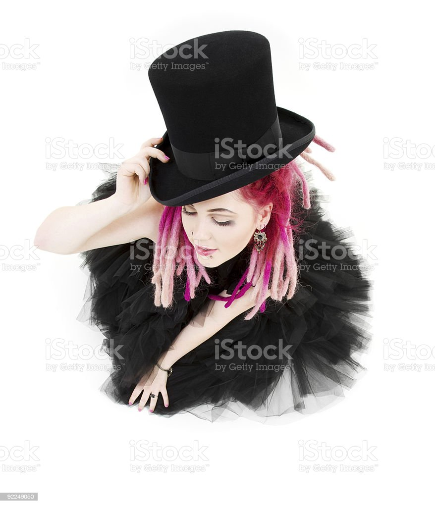 top hat royalty-free stock photo