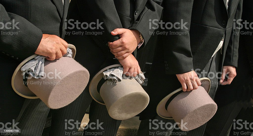 Top Hats royalty-free stock photo