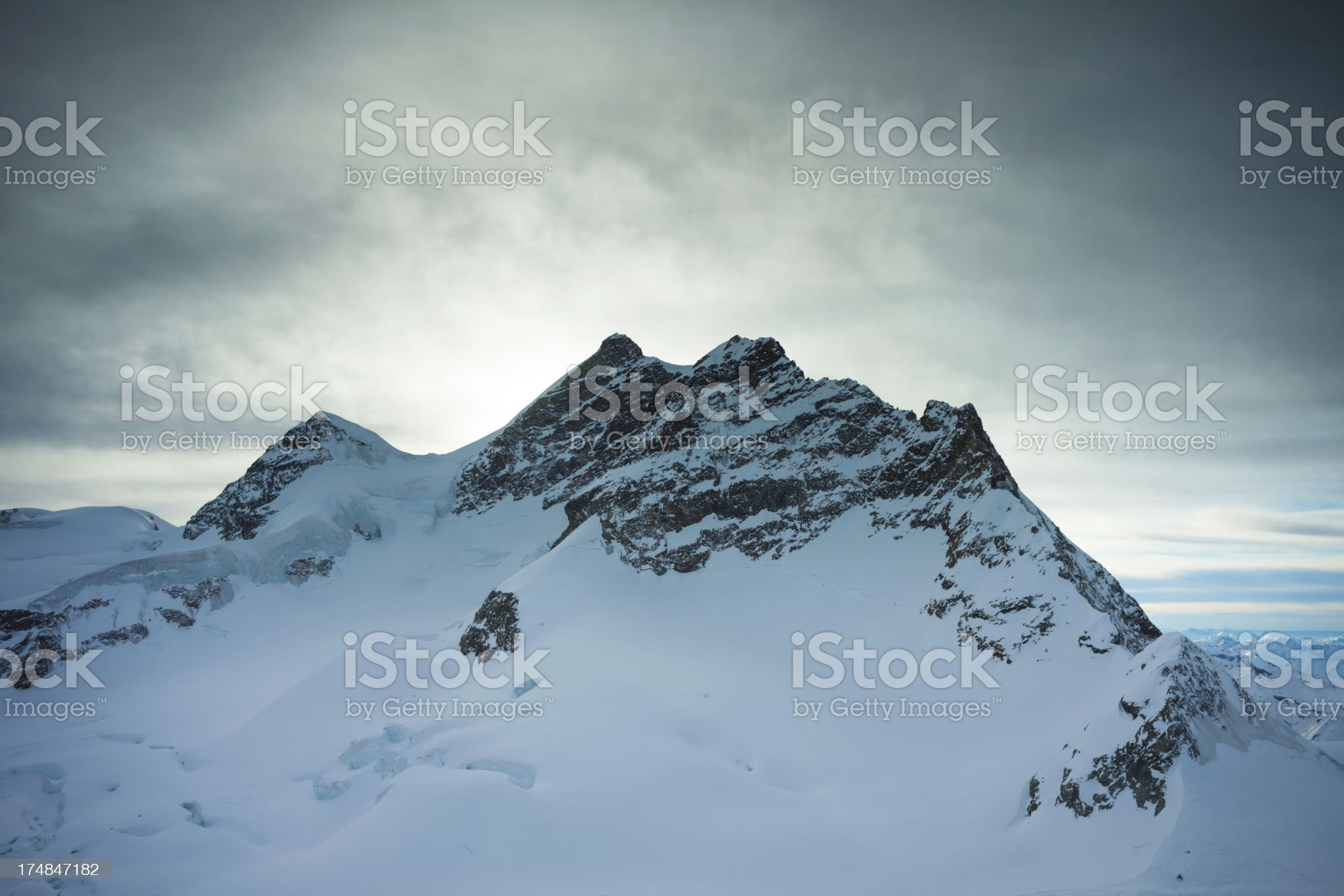 Top of Europe royalty-free stock photo