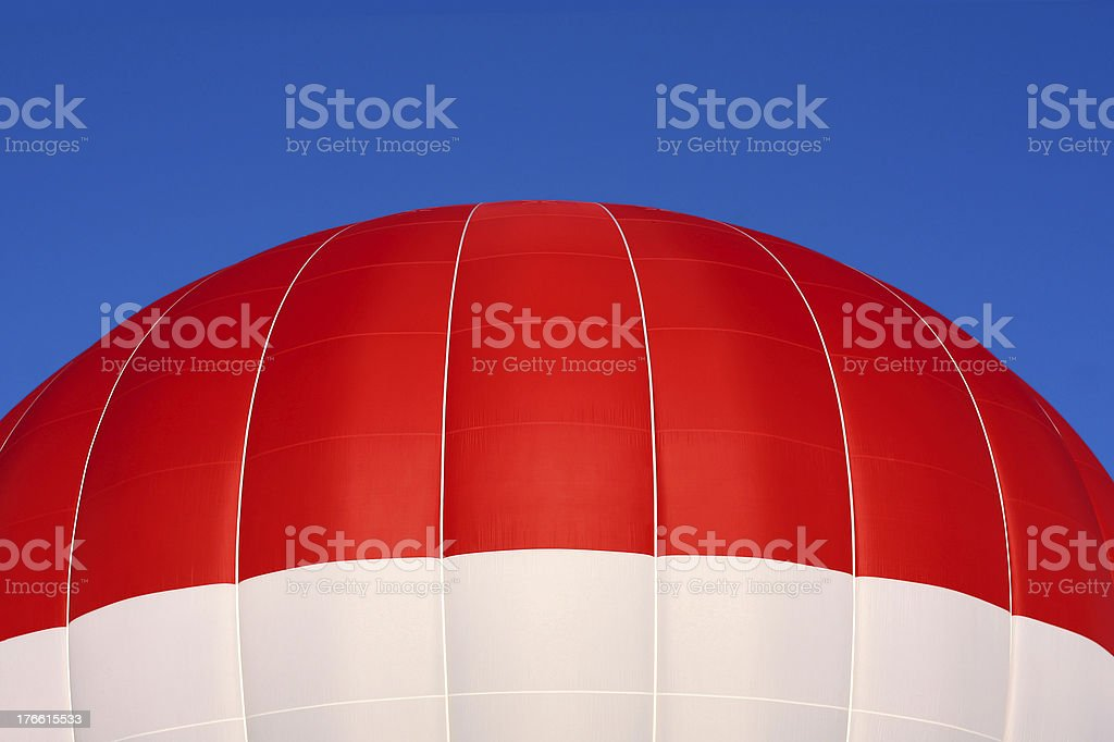 Top of Hot Air Balloon royalty-free stock photo