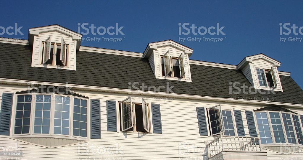 Top of House royalty-free stock photo