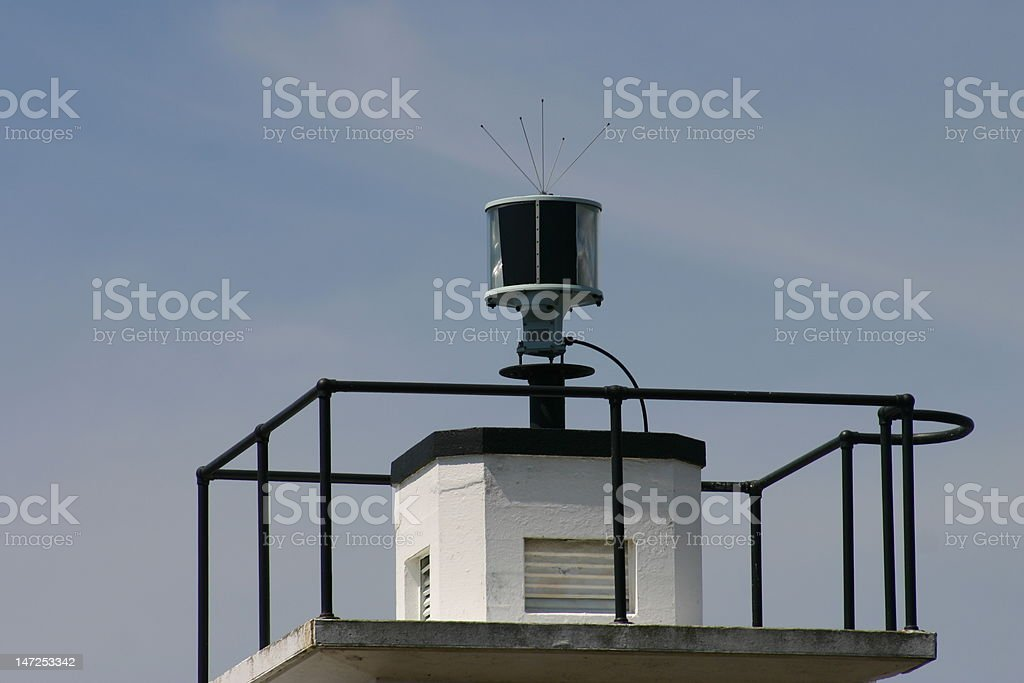 Top of Lighthouse royalty-free stock photo