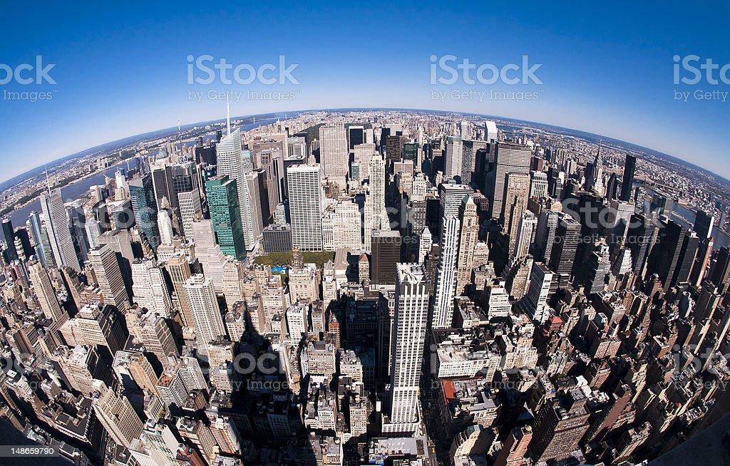 Top of New York stock photo