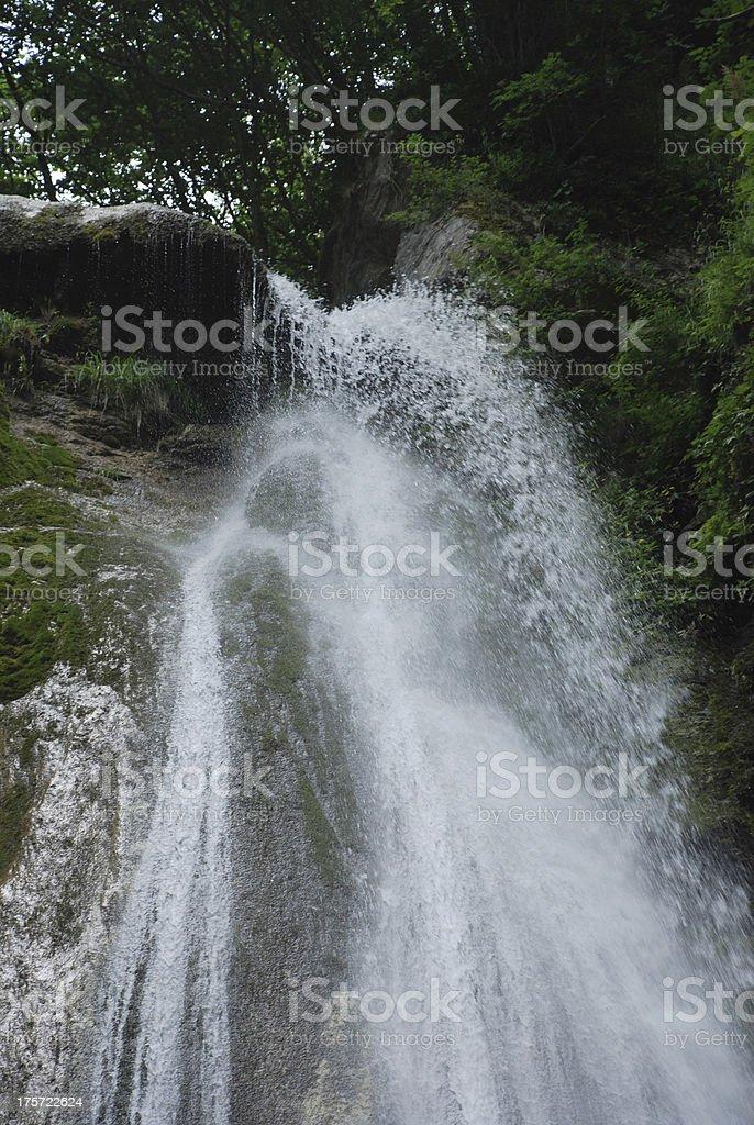 Top of Salino Waterfall royalty-free stock photo