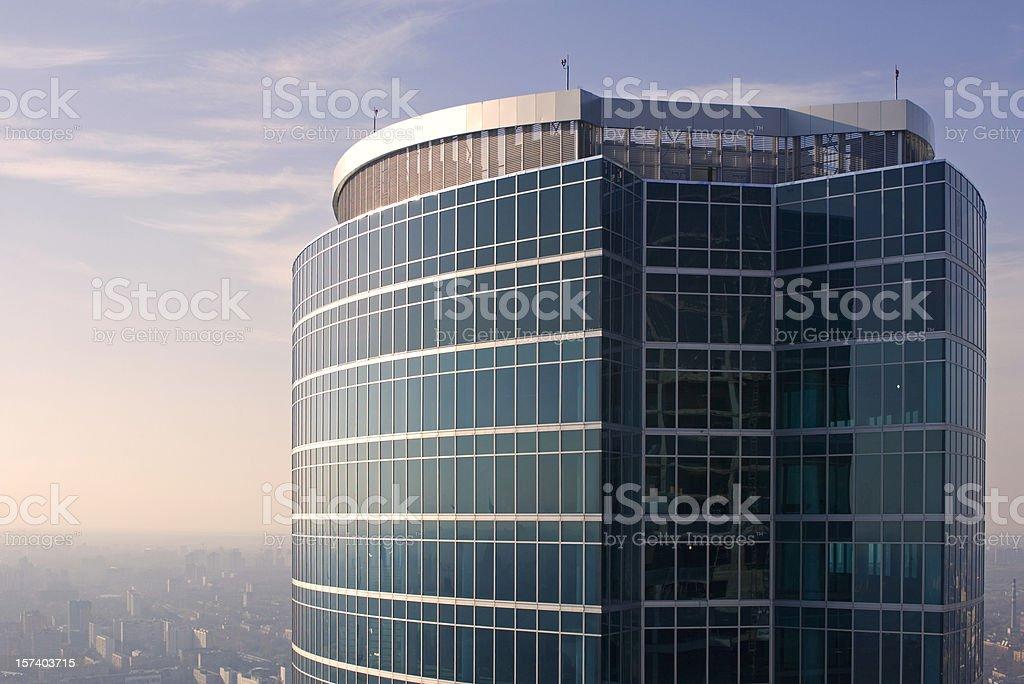 Top of skyscraper royalty-free stock photo