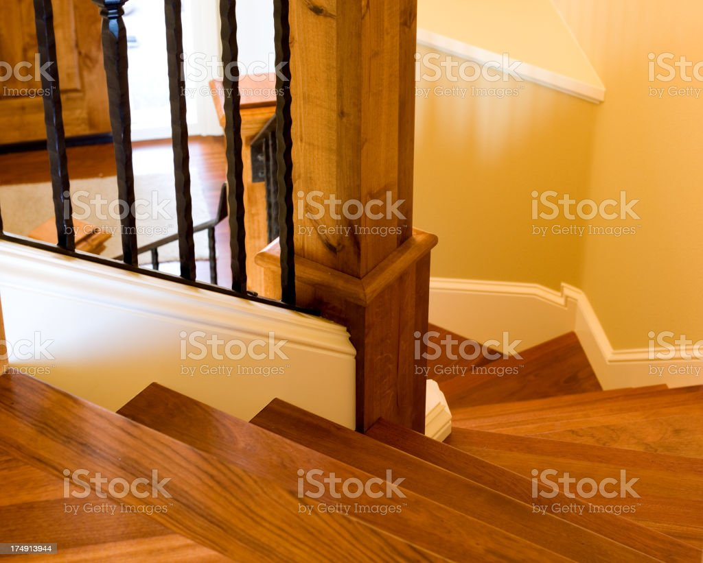 Top of Stairs stock photo