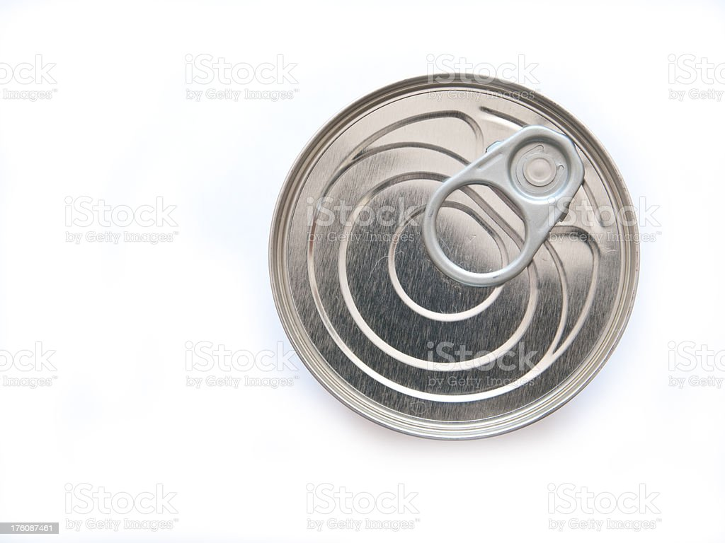 Top of the Can stock photo
