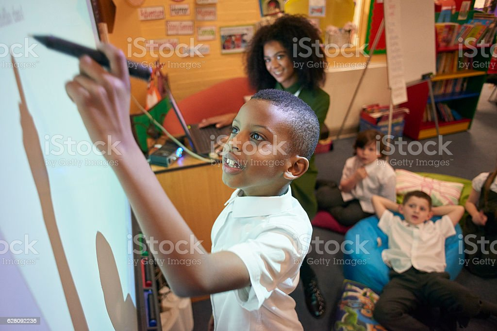 top of the class stock photo
