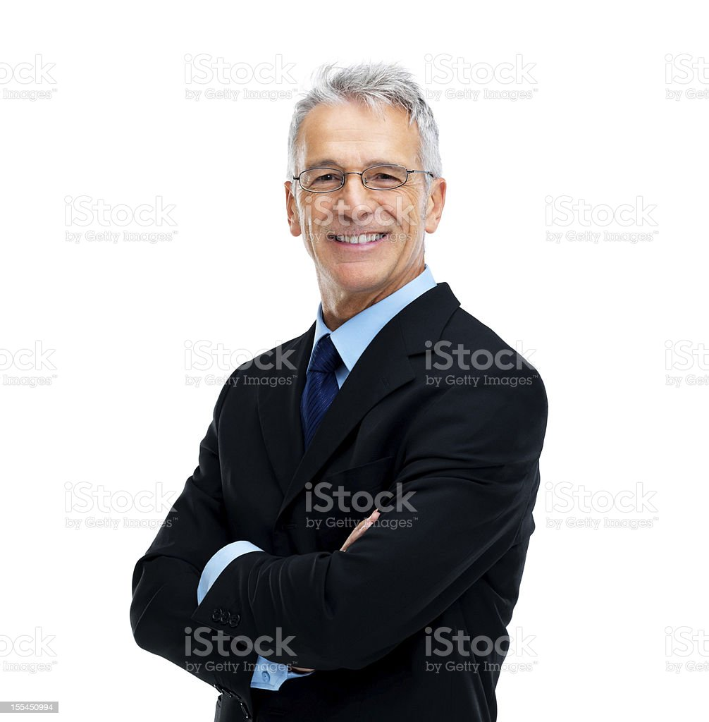 Top of the corporate ladder stock photo