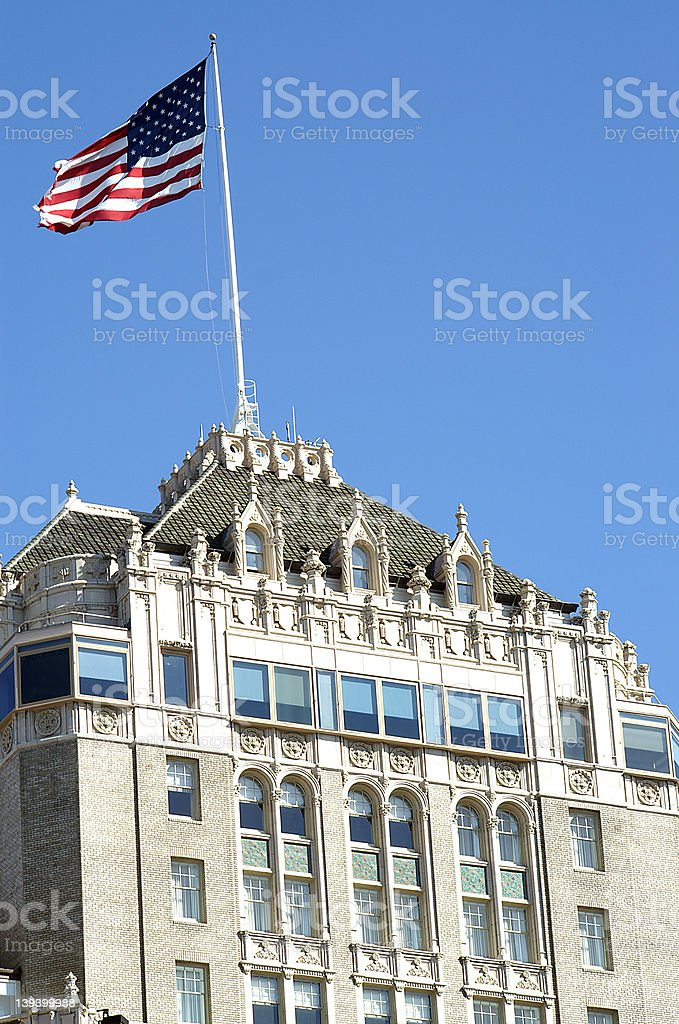 Top of the Mark royalty-free stock photo