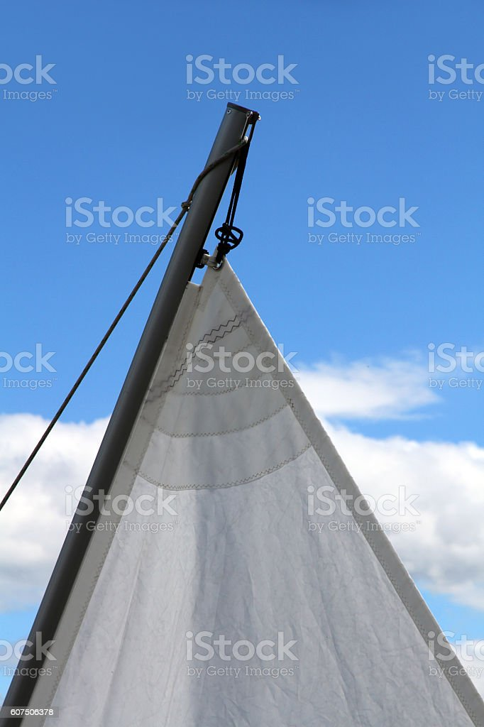 Top of the Mast stock photo