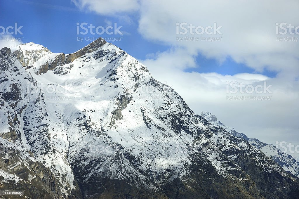 Top of the World royalty-free stock photo
