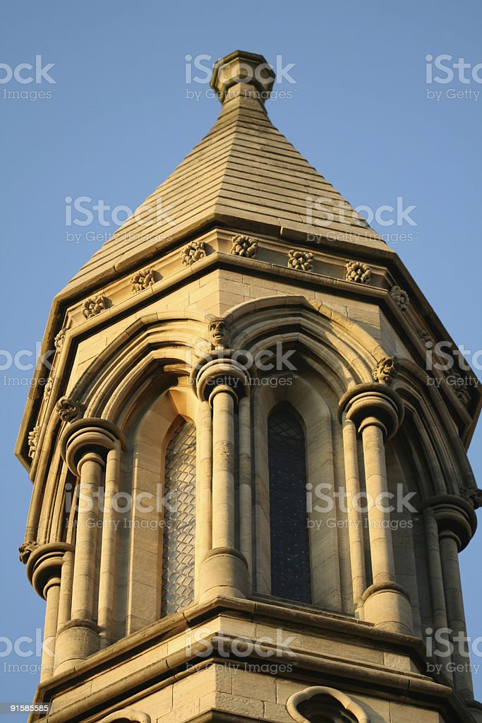 Top of Tower stock photo