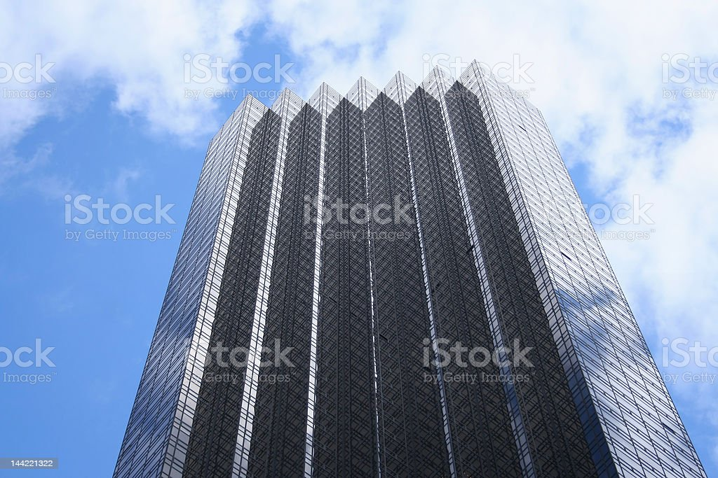 top of Trump tower stock photo