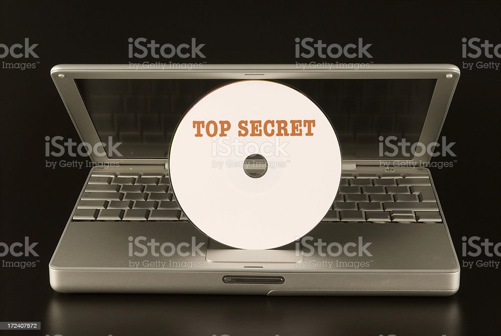 Top Secret royalty-free stock photo