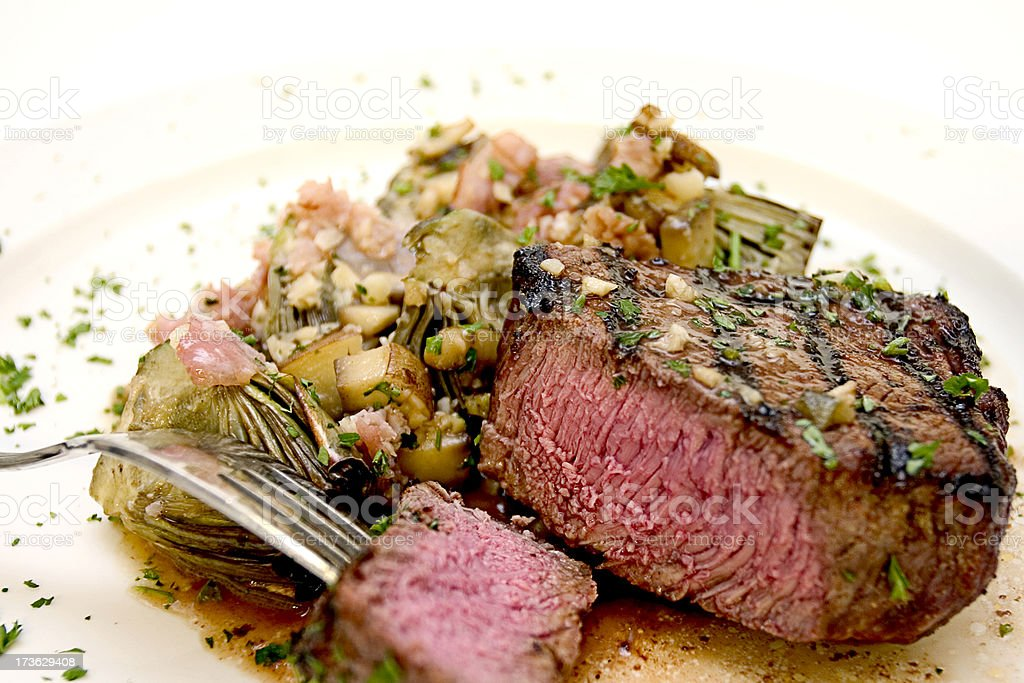 Top Sirloin royalty-free stock photo