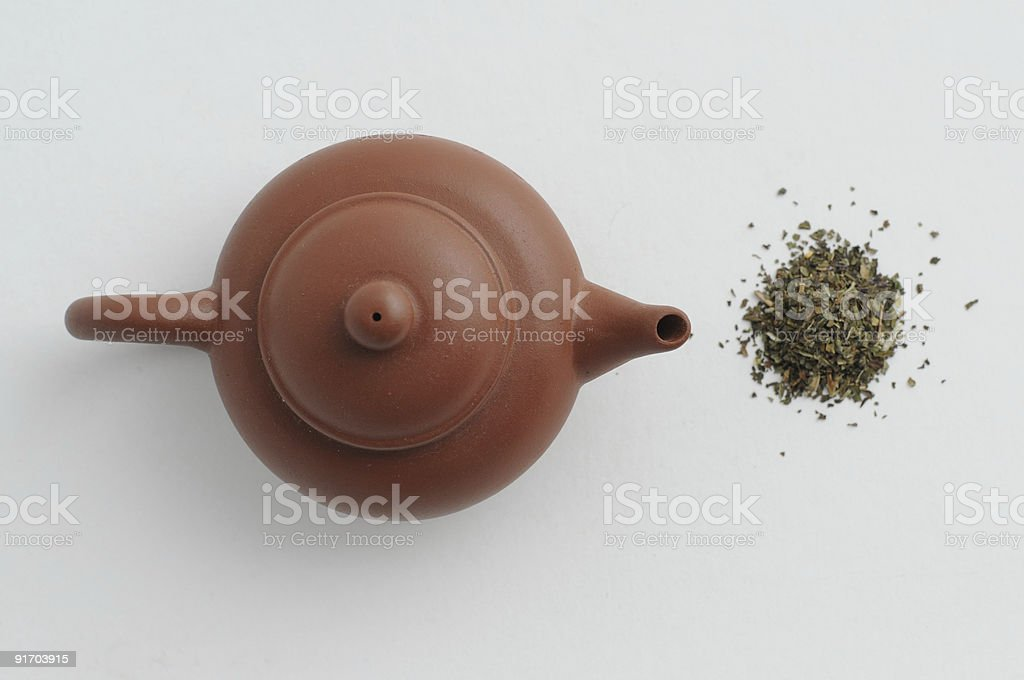 top tea royalty-free stock photo
