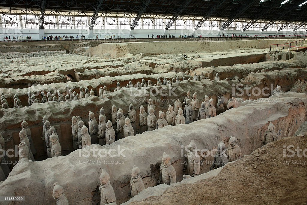Top tourist attraction in China royalty-free stock photo