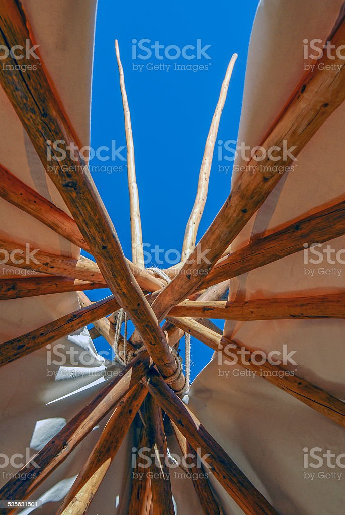 Tipi Top stock photo