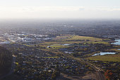 Top View From Christchurch, New Zealand