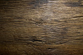 Top view grunge old wood table texture.