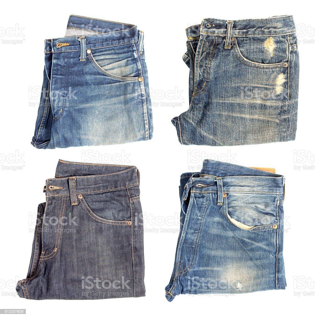 Сверху джинс
