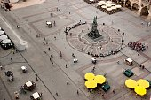 Top view of the Main Square