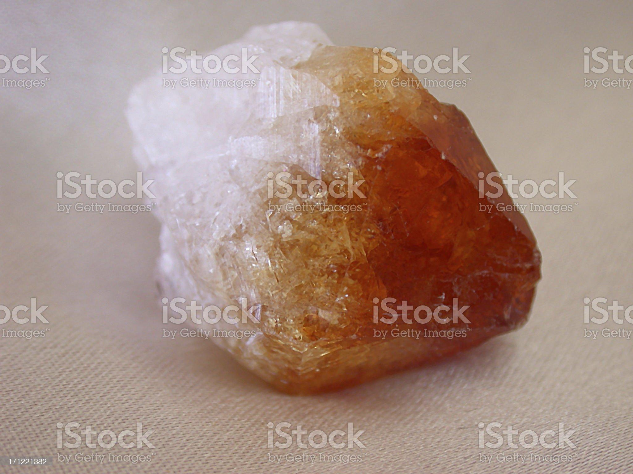 Topaz Crystal royalty-free stock photo