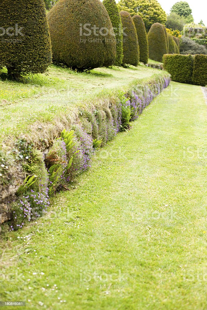 Topiary garden stock photo