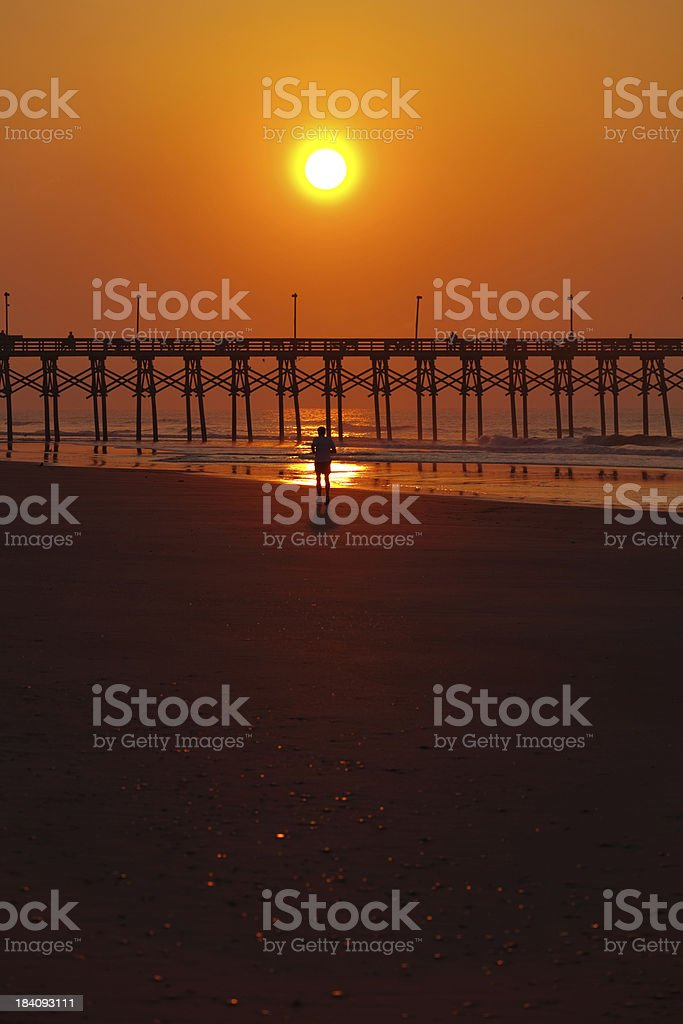 Topsail Island - NC Outer Banks stock photo