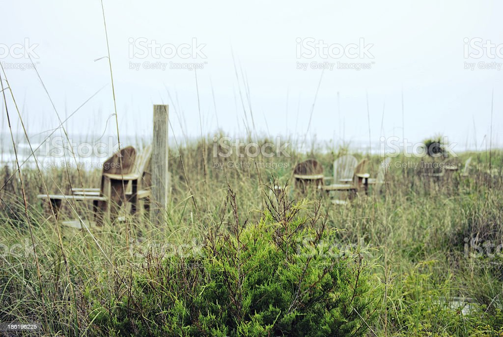 Topsail Island stock photo
