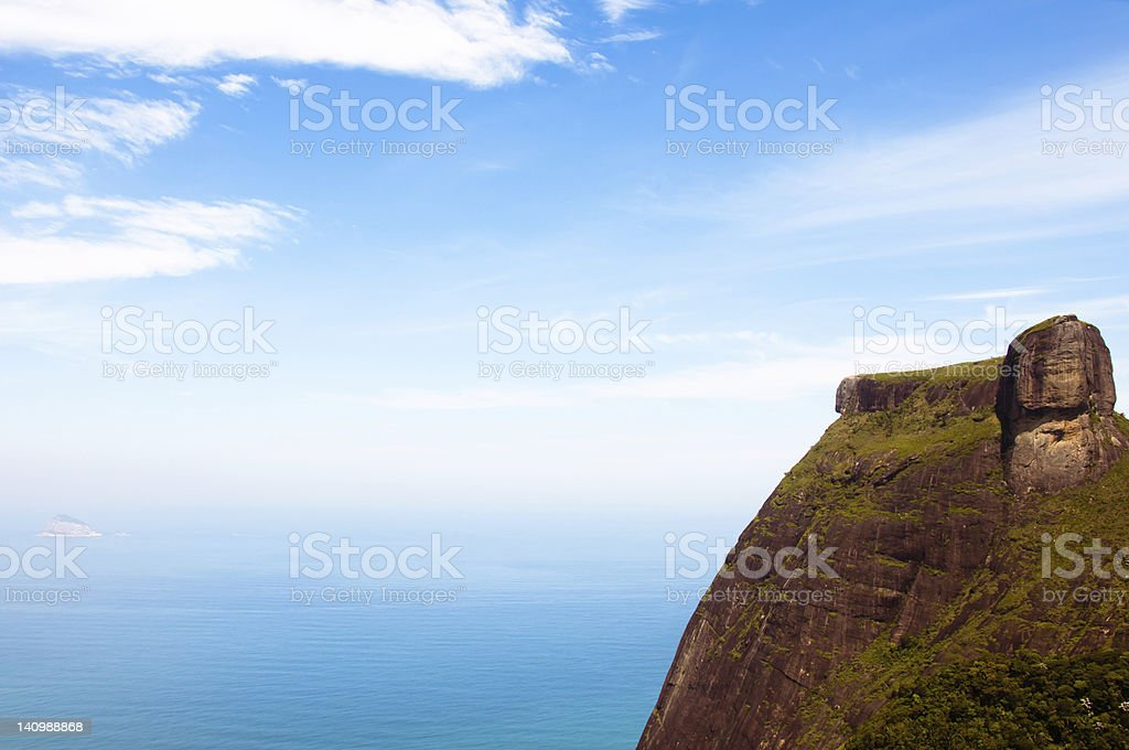 Topsail Rock stock photo