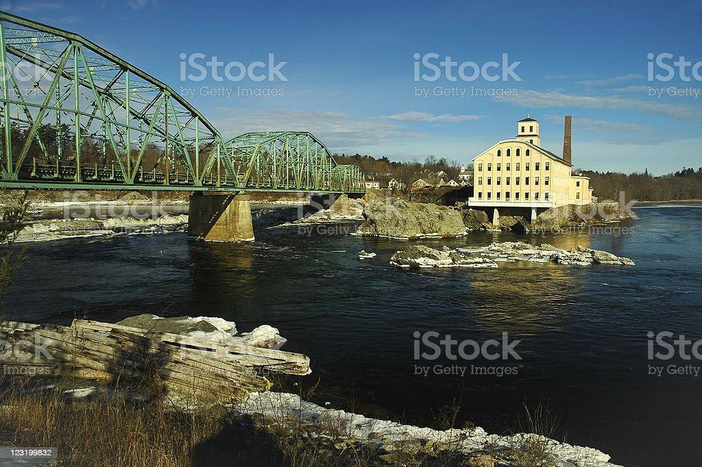 Topsham Mill stock photo