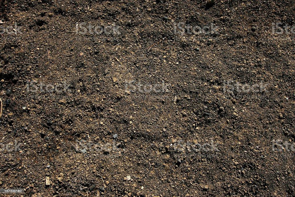 Topsoil background stock photo