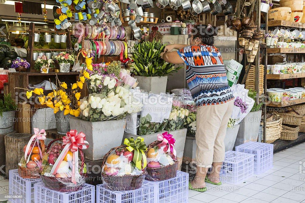 OR Tor Kor farmers market in Bangkok. royalty-free stock photo