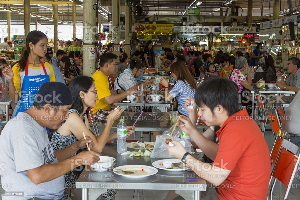 OR Tor Kor farmers market in Bangkok. royalty-free stock photo