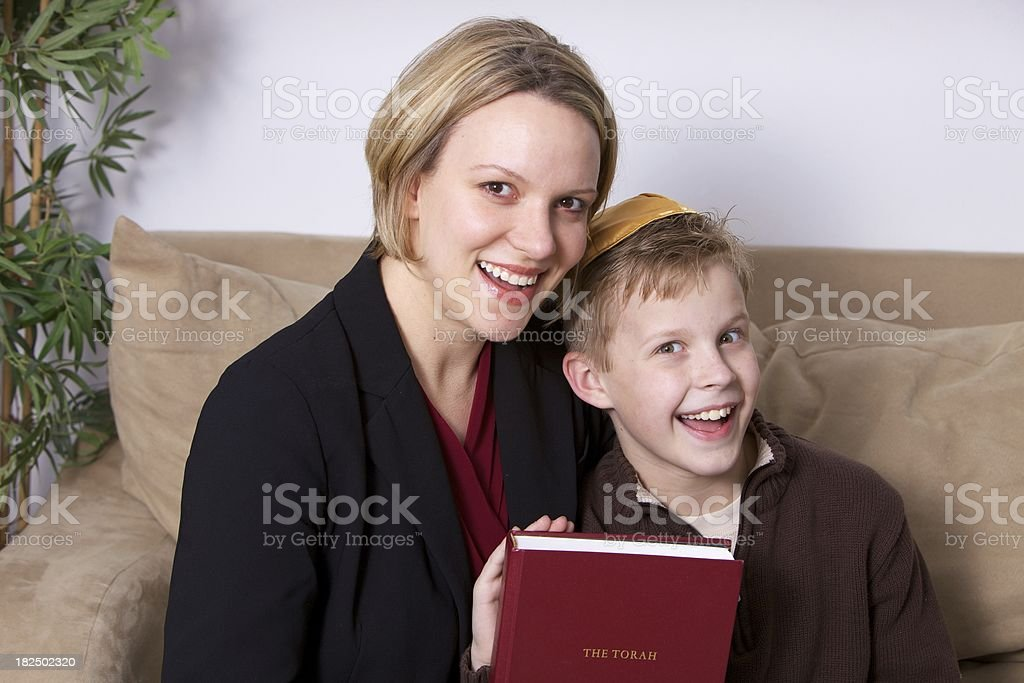 Torah Lesson stock photo