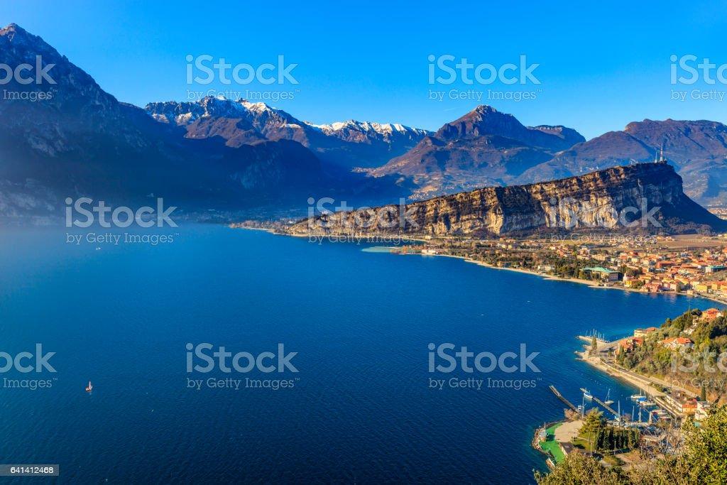 Torbole, Lake Garda - Italy stock photo