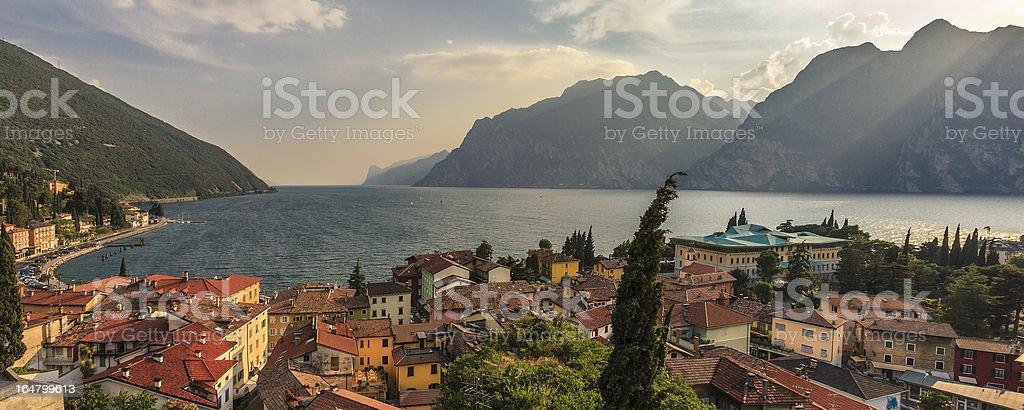 Torbole, Lake Garda stock photo