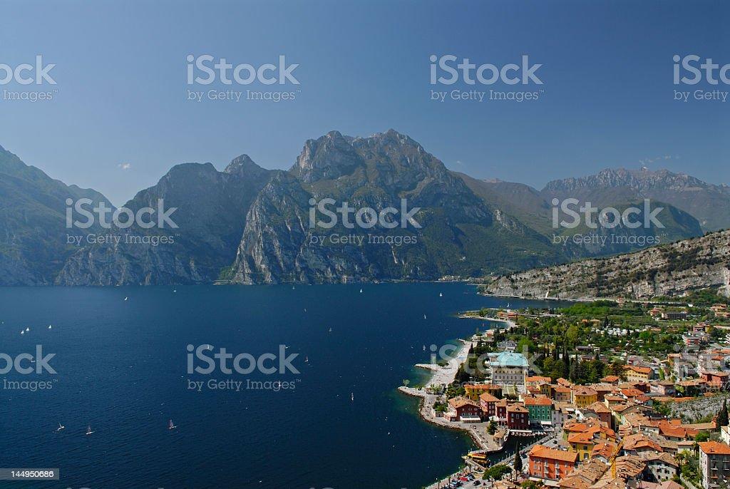 Torbole (Italy) stock photo