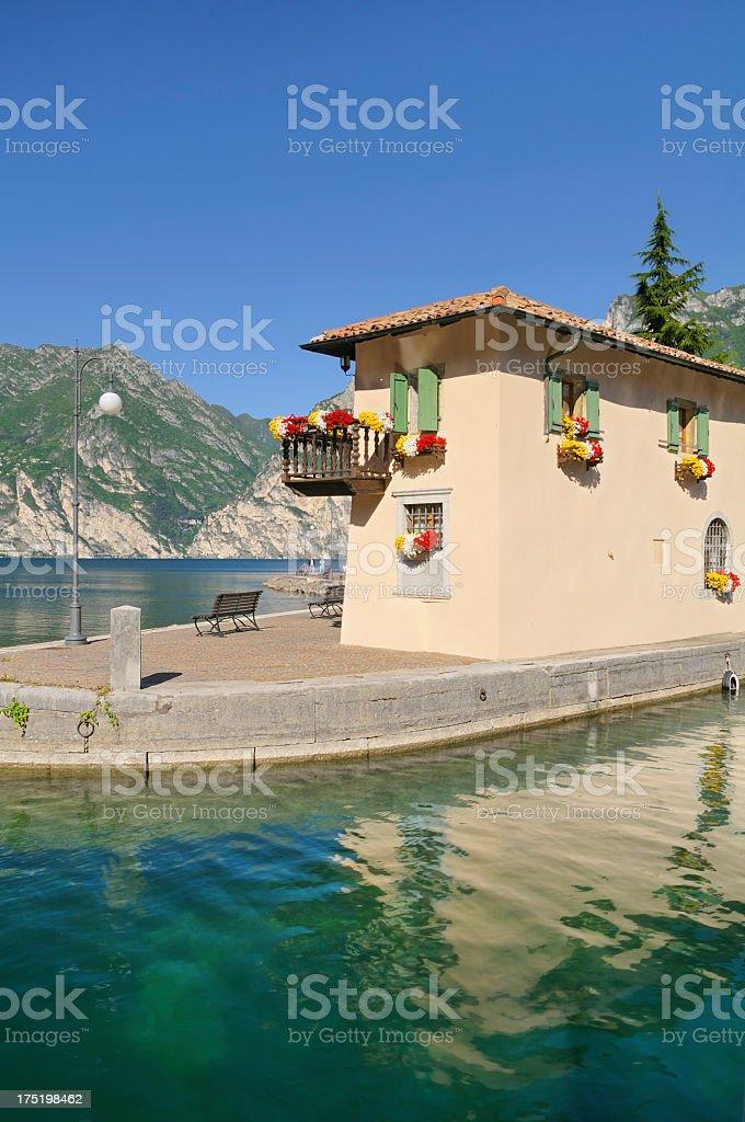 Torbole (Lago di Garda - Italy) stock photo