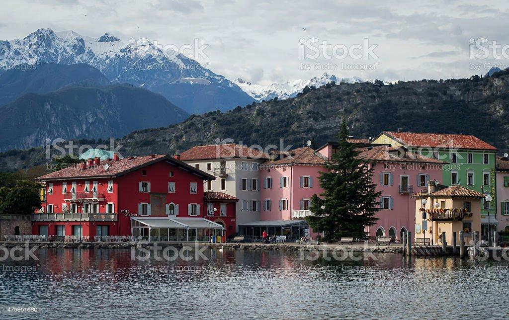 Torbole Sul Garda, Trentino Alto Adige, Italy stock photo