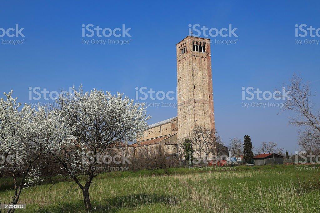 Torcello - Basilica of Torcello, Chiesa di Santa Maria Assunta stock photo
